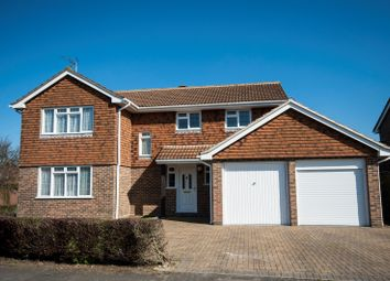 Thumbnail 4 bed detached house for sale in Wickham Road, Reading