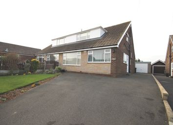 Thumbnail 3 bed semi-detached house for sale in Oak Royd, Rothwell, Leeds