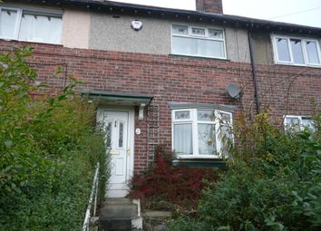 Thumbnail 2 bedroom terraced house to rent in Southey Hall Road, Sheffield