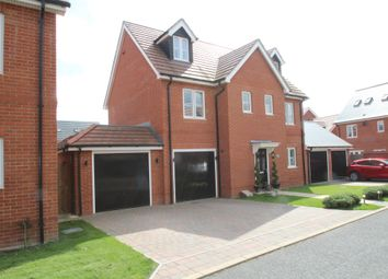 Thumbnail 5 bed detached house for sale in Freyberg Drive, Aylesbury