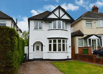 Thumbnail 3 bed detached house for sale in Acheson Road, Shirley, Solihull
