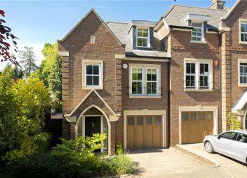 Thumbnail 4 bedroom end terrace house for sale in Larchfield Close, Weybridge, Surrey