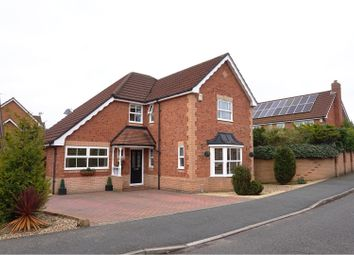 Thumbnail 4 bed detached house for sale in Hadleigh Close, Warrington