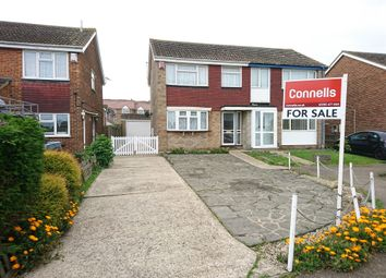 Thumbnail 3 bed semi-detached house for sale in Yevele Close, Queenborough