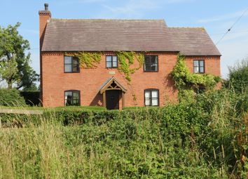 Thumbnail 4 bed detached house for sale in Rose Tree Cottage Morrey Lane, Yoxall, Staffordshire