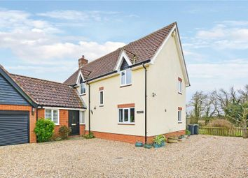 Thumbnail 4 bed link-detached house for sale in The Street, Horham, Eye