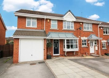 Thumbnail 4 bed town house for sale in Langton Close, Colwick, Nottingham