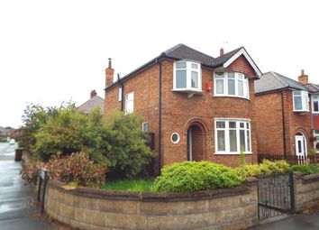 Thumbnail 3 bed detached house for sale in Seaford Avenue, Wollaton, Nottingham, Nottinghamshire