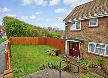 Thumbnail 4 bed end terrace house for sale in Sandhurst Avenue, Woodingdean, Brighton, East Sussex