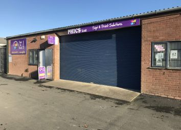 Thumbnail Light industrial to let in Unit 11 Glan Aber Trading Estate, Vale Road, Rhyl
