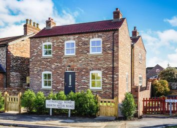 Thumbnail 4 bed detached house for sale in Strensall Road, York