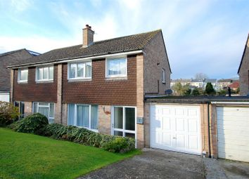 Thumbnail 3 bed semi-detached house for sale in Griffin Way, Plymouth