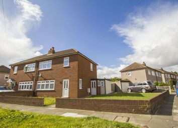 Thumbnail 3 bed semi-detached house for sale in Hall Road, Aveley, South Ockendon