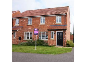 Thumbnail 3 bed semi-detached house for sale in Fenwick Road, Scartho Top, Grimsby