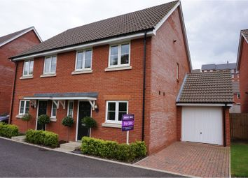 Thumbnail 3 bedroom semi-detached house for sale in Ellisons Crescent, Ipswich