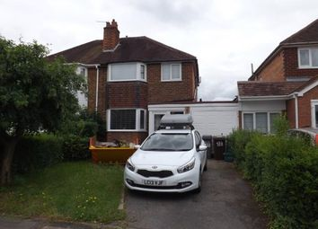 Thumbnail 3 bed semi-detached house for sale in Damson Lane, Solihull, West Midlands