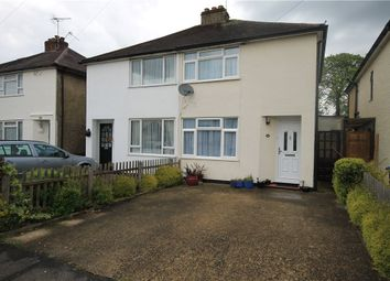 Thumbnail 3 bed semi-detached house for sale in Weston Avenue, Addlestone, Surrey