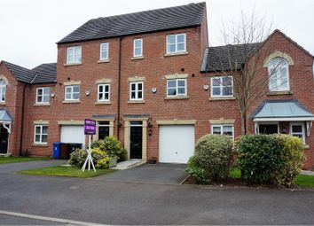 Thumbnail 3 bed town house for sale in Albion Close, Manchester