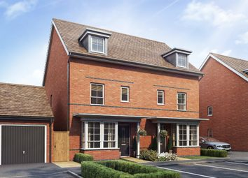 "Thumbnail 4 bed semi-detached house for sale in ""Woodvale"" at Chapel Hill, Basingstoke"