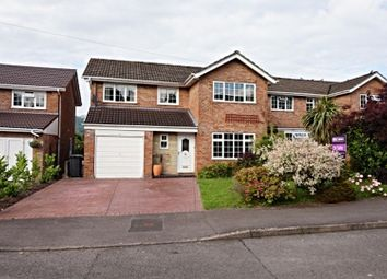 Thumbnail 4 bedroom detached house for sale in Malford Grove, Abergavenny