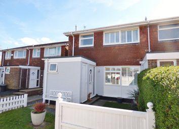 Thumbnail 3 bed semi-detached house for sale in Alfriston Close, Felpham, Bognor Regis