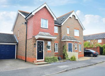 Thumbnail 3 bed semi-detached house for sale in Ashburn Place, Didcot