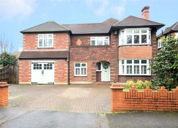 Thumbnail 5 bed detached house for sale in Southmont Road, Esher, Surrey