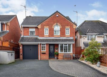 Thumbnail 4 bed detached house for sale in Tunnicliffe Way, Uttoxeter