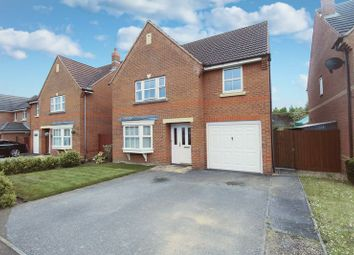 Thumbnail 4 bed detached house for sale in Croyland Drive, Elstow