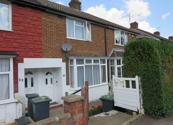 Thumbnail 2 bed terraced house for sale in Pomfret Avenue, Luton
