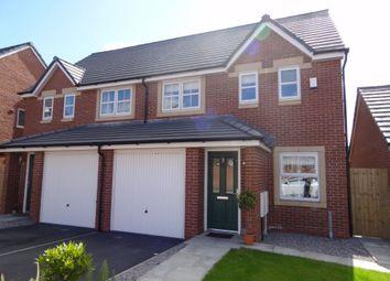 Thumbnail 3 bed semi-detached house for sale in Farneside Close, Linton Grove, Carlisle, Cumbria