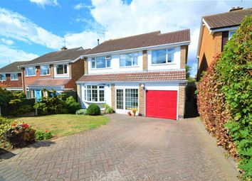 Thumbnail 4 bed detached house for sale in Crossdale Drive, Keyworth, Nottingham