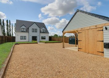 Thumbnail 4 bedroom detached house for sale in Witcham Road, Mepal, Ely