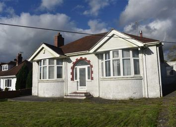 Thumbnail 3 bed detached bungalow for sale in Bryntirion Road, Pontlliw, Swansea