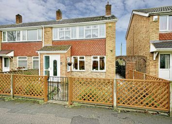 Thumbnail 3 bed end terrace house for sale in Booth Way, Little Paxton, St. Neots