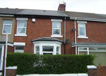 Thumbnail 3 bedroom terraced house for sale in Newbiggin Road, Ashington