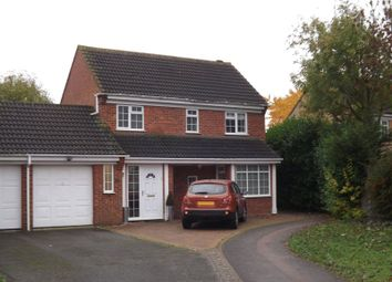 Thumbnail 3 bedroom detached house to rent in Gazelle Close, Eaton Socon, St. Neots