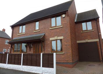Thumbnail 4 bed detached house for sale in Windmill Street, Church Gresley, Swadlincote
