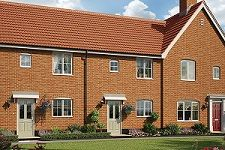 Thumbnail 3 bed terraced house for sale in Off Saham Road, Watton