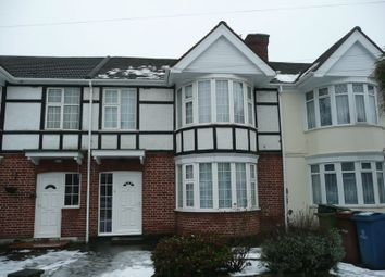 Thumbnail 3 bed terraced house to rent in Addiscombe Close, Queensbury, Harrow