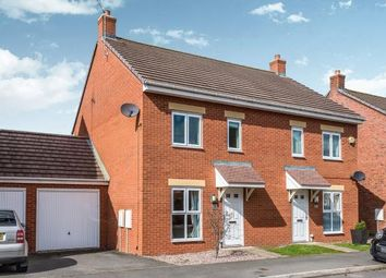 Thumbnail 3 bed semi-detached house for sale in St. Thomas Way, Rugeley, Staffordshire, United Kingdom