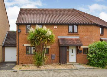 Thumbnail 3 bed semi-detached house for sale in Rowton Heath, Oakhill, Milton Keynes