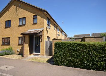Thumbnail 1 bed end terrace house for sale in Marsom Grove, Luton