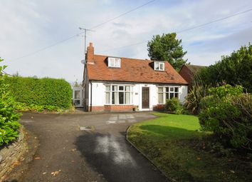 Thumbnail 2 bed detached bungalow for sale in Holymoor Road, Holymoorside, Chesterfield