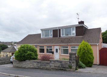 Thumbnail 3 bed semi-detached bungalow for sale in Shelley Drive, Bridgend, Mid Glamorgan.