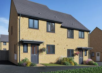 "Thumbnail 3 bed semi-detached house for sale in ""The Eveleigh"" at Field Road, Ramsey, Huntingdon"