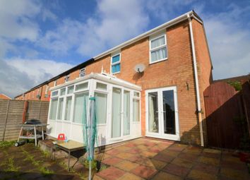Thumbnail 3 bedroom end terrace house for sale in Penrith Walk, Plymouth, Devon