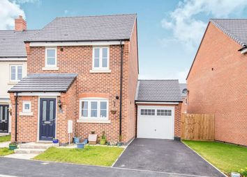 Thumbnail 3 bed detached house for sale in Vernon Way, Stoney Stanton