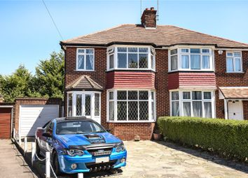 Thumbnail 3 bed semi-detached house for sale in Home Mead, Stanmore, Middlesex
