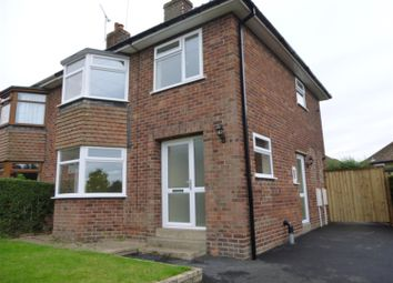 Thumbnail 3 bed semi-detached house to rent in Woodlands, Retford